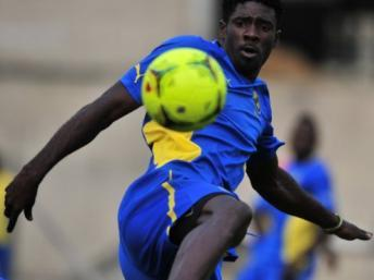 Le Gabonais Bruno Ecuele Manga. AFP / Issouf Sanogo