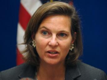 Victoria Nuland, la porte-parole du Département d'Etat des Etats-Unis AFP PHOTO/MASSOUD Hossaini