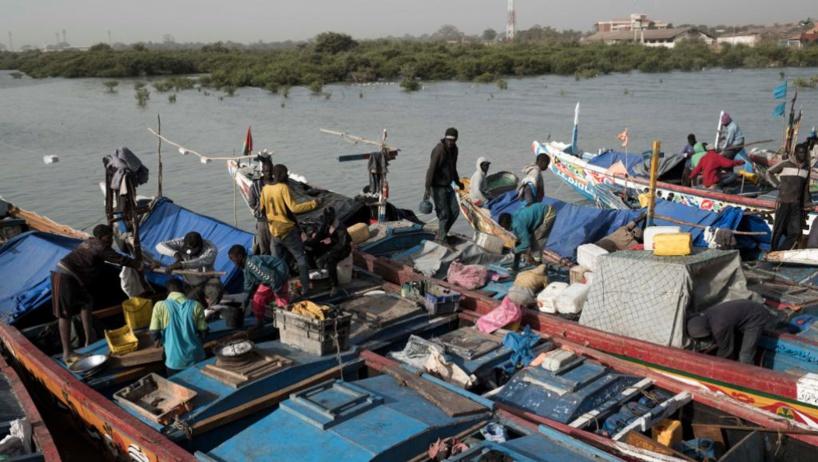 Guinée-Bissau: des pirogues de pêcheurs sénégalais arraisonnées