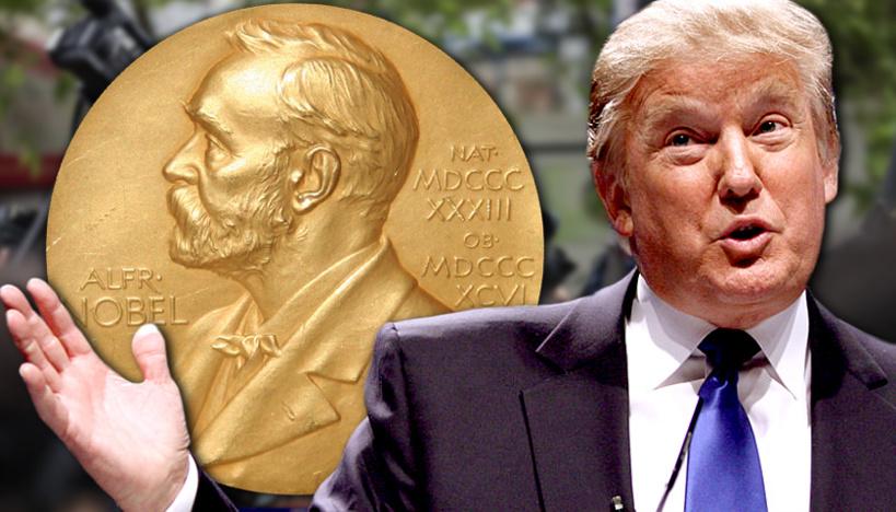 """Donald Trump veut le """"Prix Nobel de la Paix"""""""