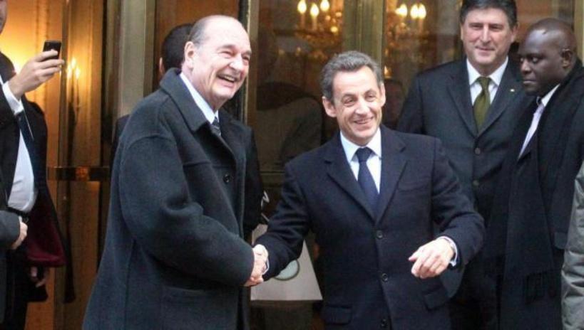 """""""Une part de ma vie qui disparaît aujourd'hui"""": l'hommage de Sarkozy à Chirac"""