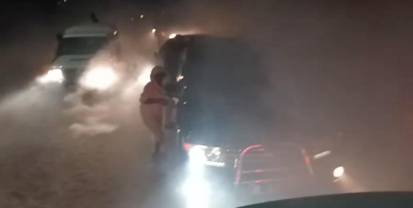 Khalifa Sall vient de sortir de Rebeuss sous des tirs de grenades lacrymogènes
