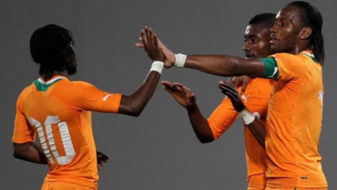 CAN 2012 - Côte d'ivoire vs Guinée Equatoriale: Drogba porte les Éléphants