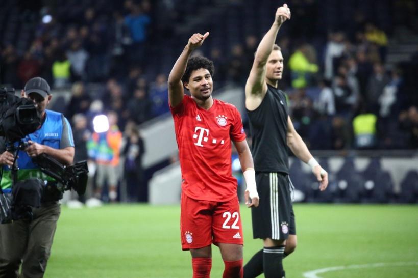 Ligue des champions: le Bayern écrase Tottenham (7-2)