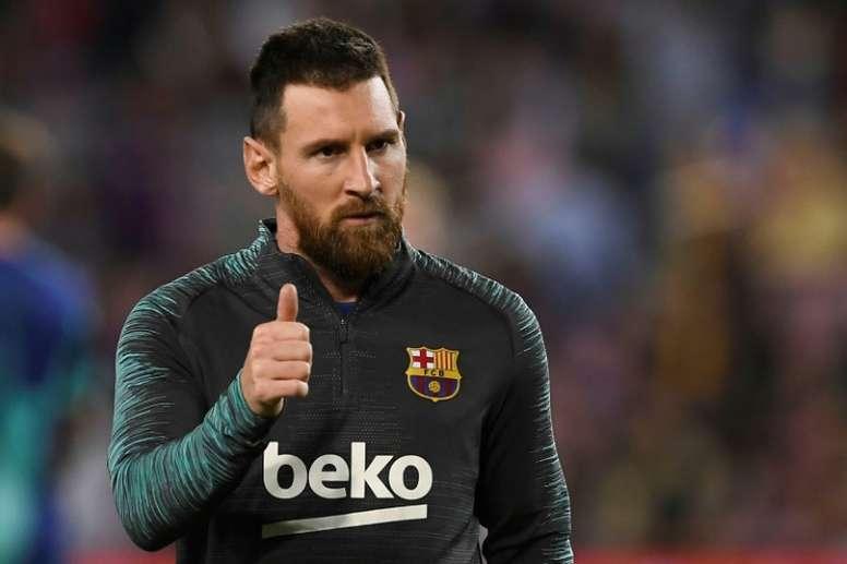 """Messi assure n'avoir """"aucun problème"""" avec Griezmann au Barça"""