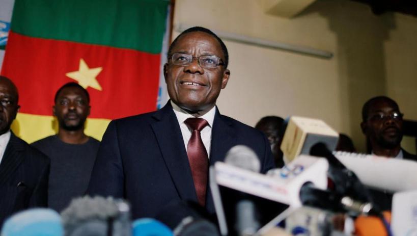 Le leader du MRC Maurice Kamto