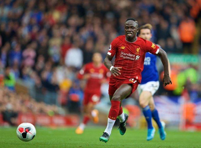 Pour son 100e match de Premier League, Sadio Mané ouvre le score face à Leicester