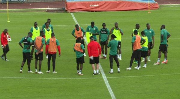 Amical Sénégal-Brésil: Les Lions entament leur première séance d'entrainement ce lundi à Paris