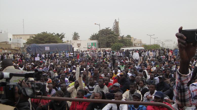 Mardi, « Y en a marre » va transformer la place de l'Obélisque en « place Tahrir »