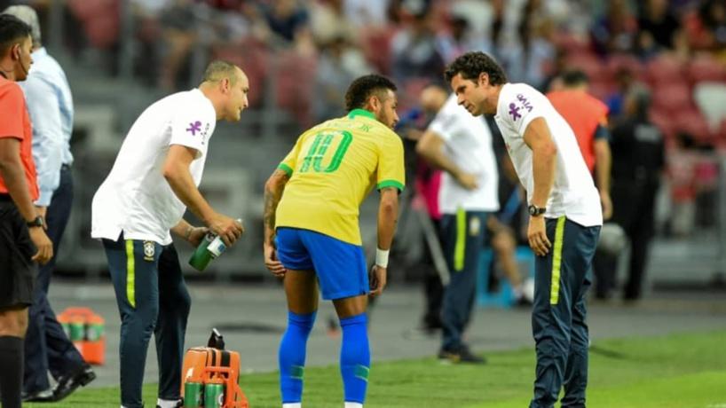 PSG : Neymar, le médecin du Brésil rassure