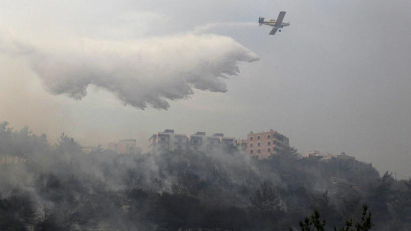 Le Liban en proie à des centaines d'incendies
