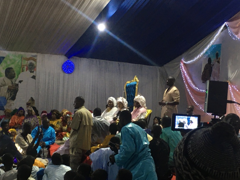 Magal à Ngabou: Sokhna Bator offre un Range Rover de 70 millions à Sokhna Aida Diallo