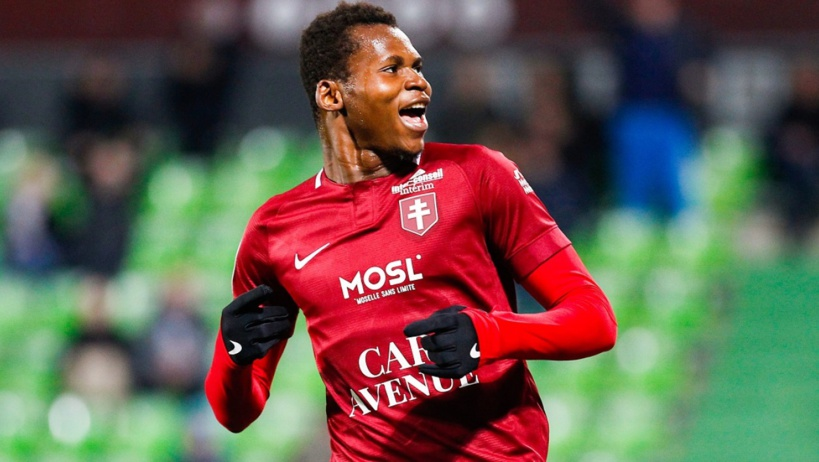 Habib Diallo fait tomber Nantes et permet à Metz de respirer