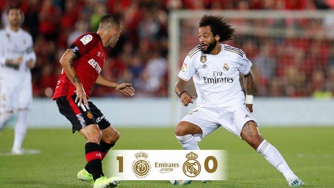 Le Réal Madrid perd chez le promu Majorque et cède la première place au Barça