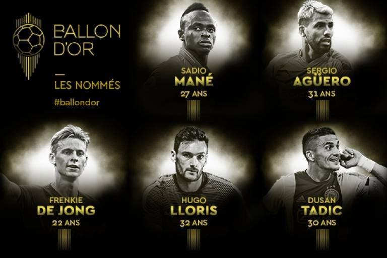 Ballon d'or : Sadio Mané parmi les cinq premiers noms publiés