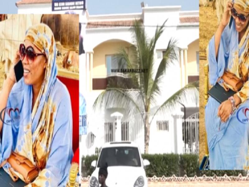 La résidence de Sokhna Aïda Diallo sous haute surveillance policière