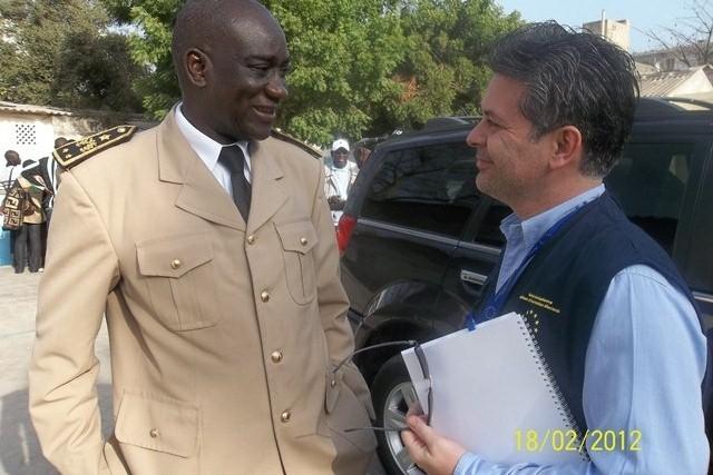 Vote des corps militaires et paramilitaires samedi : Les observateurs de l'UE au centre de vote El Hadj Bibi Ndiaye