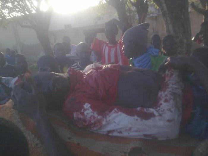 Sénégal: VIDEO deux morts dans les violentes manifestations d'hier, dimanche (El Hadji Thiam et Mamadou Ndiaye)