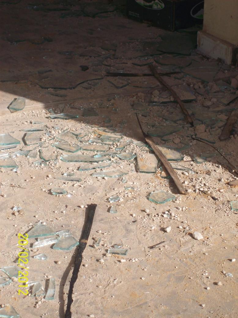 PHOTOS Les mairies de Mbao et de Guinaw rail Sud saccagées et calcinées