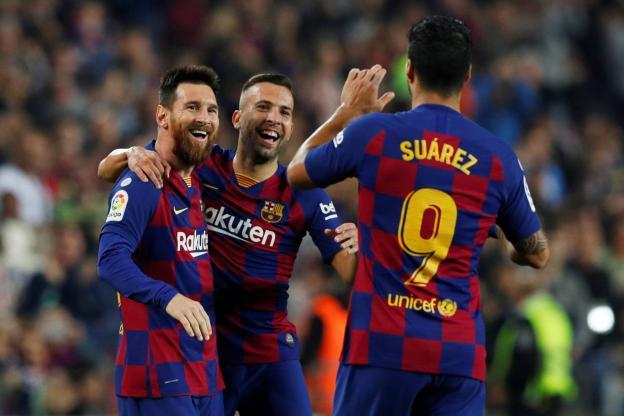 Liga : Messi en feu, le Barça prend la tête