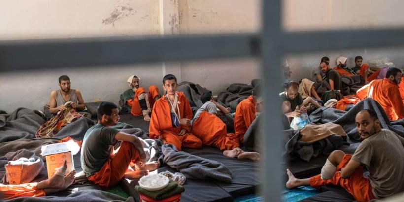 Dans le nord-est de la Syrie, la mort lente des prisonniers djihadistes