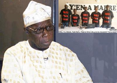 """Obasanjo a écouté le Mouvement """"Y'en a marre"""""""