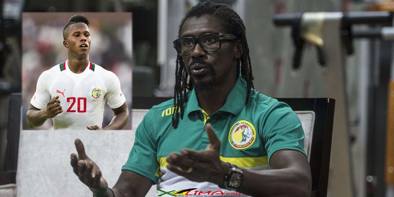Eliminatoires CAN2021: Aliou Cissé justifie la non-convocation de Diao Baldé par la grossesse de sa femme