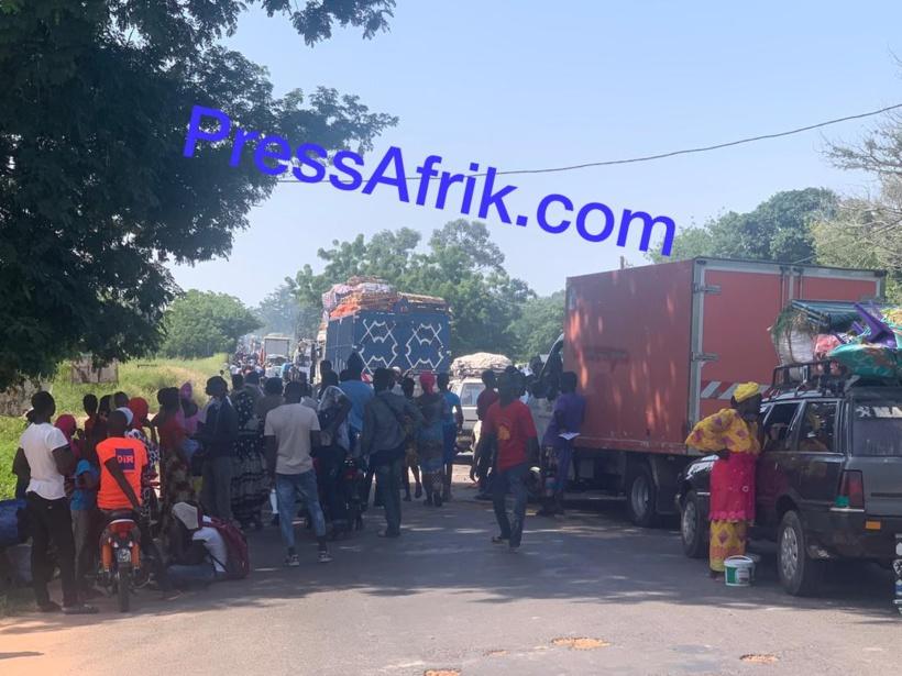  Sédhiou : une jeune fille de 15 ans tuée dans un accident, la population manifeste