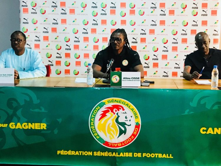 """Double confrontation des """"Lions"""" : Aliou Cissé désavoue les dates de la CAF"""
