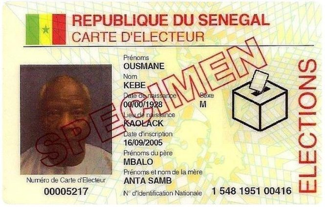Sénégal - Touba: La police aux trousses des dealers de cartes d'électeur