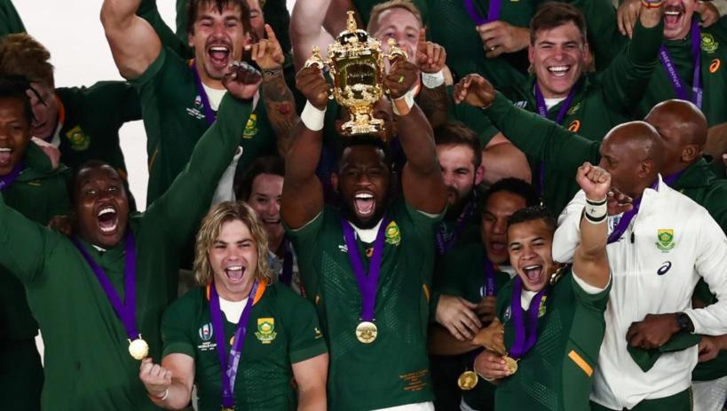 Rugby: l'Afrique du Sud remporte la Coupe du monde 2019 en battant l'Angleterre en finale au Japon (32-12)