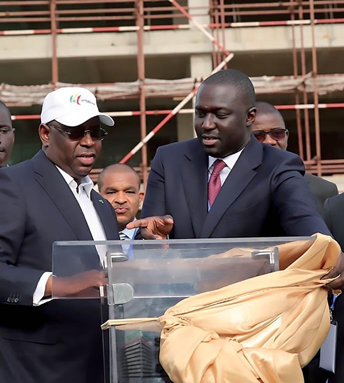 """Abdou Karim Fofana """"refuse"""" de parler d'un éventuel troisième mandat de Macky Sall"""