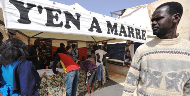 Le Mouvement Yen a marre  appelle les sénégalais à ignorer le bulletin de Wade et à sécuriser leur vote