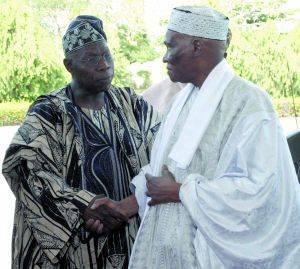 Présidentielle sénégalaise : Obasanjo propose deux ans supplémentaires pour Me Wade