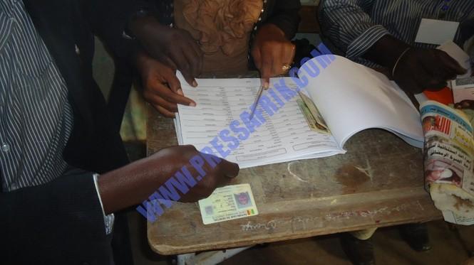Sénégal - présidentielle Reportage photos du scrutin: Grande mobilisation citoyenne des électeurs