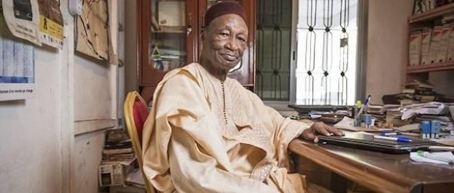 "Le ""Grand prix africain Yasser Arafat"" remis à Djibril Tamsir Niane"