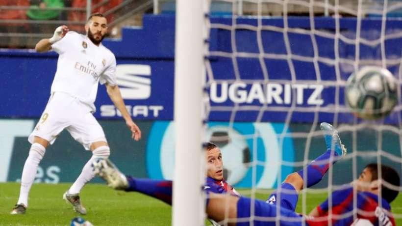 Liga: le Real Madrid explose Eibar (4-0)