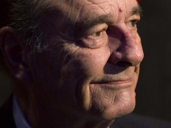 Jacques Chirac, le 24 novembre 2011, à Paris. REUTERS/Charles Platiau