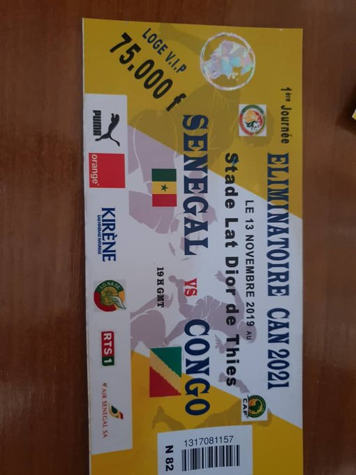 Erreur sur le drapeau du Congo: La Fédération sénégalaise de football se rectifie