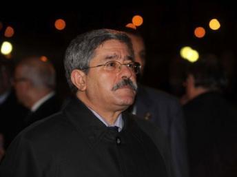 Le Premier ministre algérien,Ahmed Ouyahia. AFP PHOTO/FAROUK BATICHE