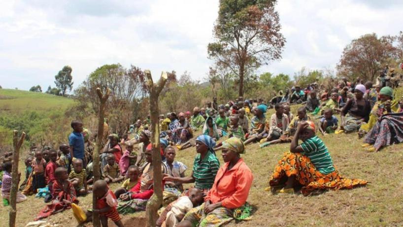 RDC: l'appel à l'aide des déplacés des hauts plateaux du Sud-Kivu