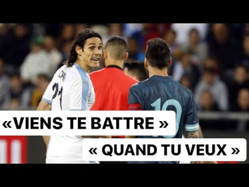 Altercation entre Cavani et Messi ! « Viens te battre » aurait lancé l'Uruguayen et la réponse de l'Argentin : « quand tu veux »