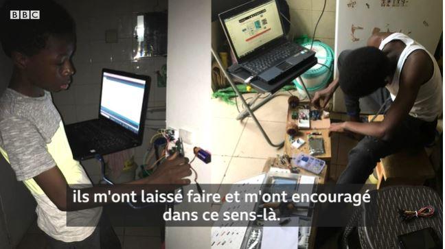A 15 ans, ce Sénégalais créé une voiture autonome, un thermomètre et un détecteur de mouvements