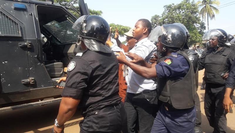 Guinée : des activistes opposés à un 3e mandat arrêtés et emprisonnés à Kindia