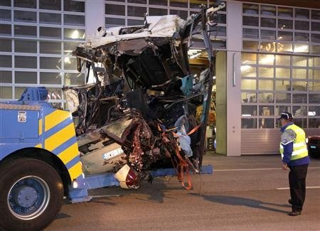 Un accident de car en Suisse tue 28 Belges, dont 22 enfants
