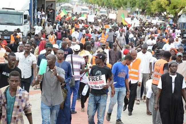 Cinq organisations annoncent l'arrestation de 9 personnes et exigent la libération de Guy Marius et Cie
