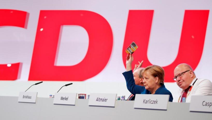 Week-end intense pour les partis politiques d'Allemagne