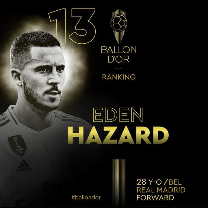 Ballon d'Or : Suivez en direct le classement des joueurs du 11e au 17e