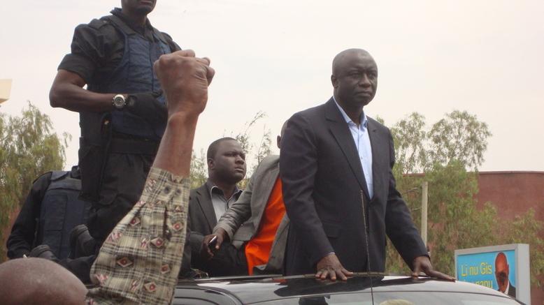 Thiès : Idrissa Seck vote en pensant à la situation au Mali