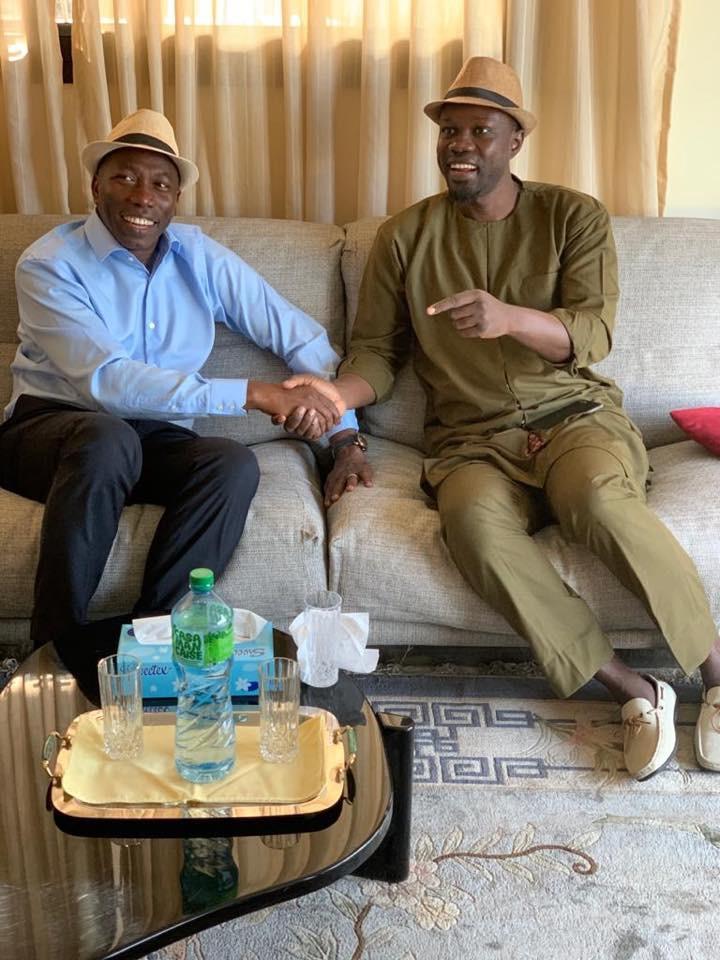 Présidentielle Guinée Bissau: Ousmane Sonko affiche son soutien à Domingos Pereira
